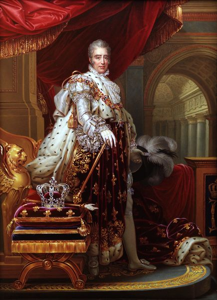 Charles X (Charles Philippe; 9 October 1757 – 6 November 1836) was known for most of his life as the Count of Artois before he reigned as King of France and of Navarre from 16 September 1824 until 2 August 1830. younger brother to reigning Kings Louis XVI and Louis XVIII,  His rule of almost six years ended in the July Revolution of 1830, which resulted in his abdication He was the last of the French rulers from the senior branch of the House of Bourbon descended from King Henry IV.