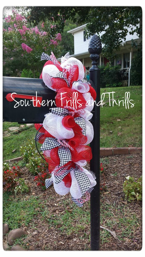 University of Alabama Mailbox Swag by SouthernThrills on Etsy