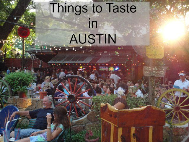 The best things and places to eat in Austin, Texas.