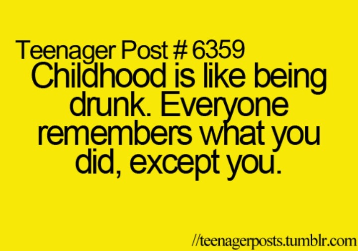 ♥ Pinterest : Mutine Lolita ♥  So true #childhood