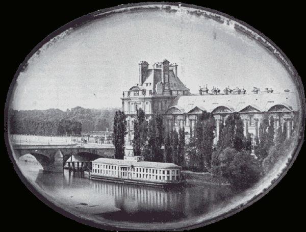 Le Louvre en 1839 plus ancienne photo paris