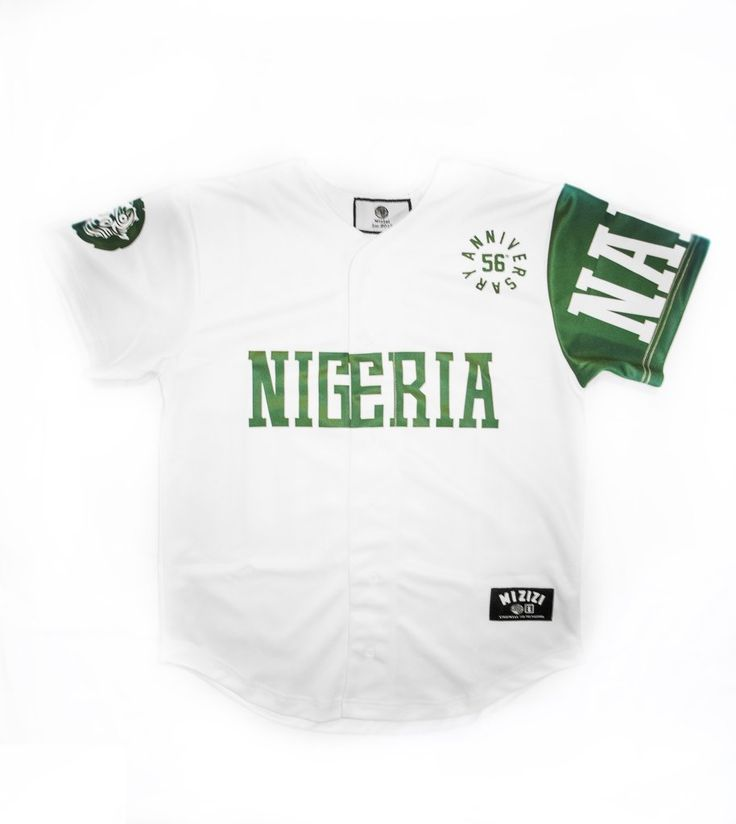 Limited Edition Nigeria Independence Baseball Jersey