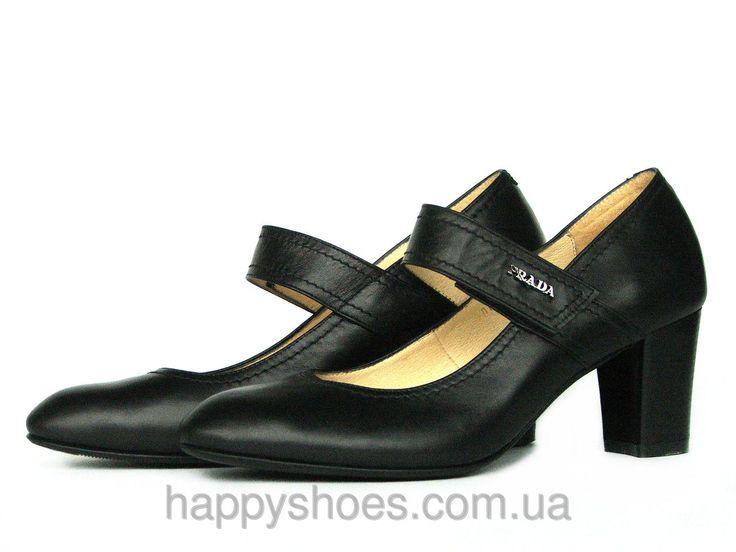 """Туфли кожаные Мэри Джейн с застежкой на липучке: продажа, цена в Запорожье. туфли женские от """"HappyShoes"""" - 255342032 #мэриджейн #весна2016 #обувькожа #туфликожа"""