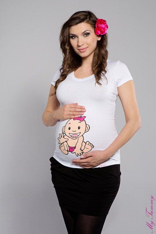 T-shirt premaman Bambina II