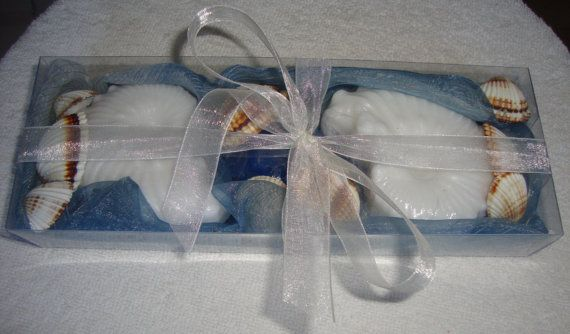 Shell Shape Soaps Gift Set Scented Soap by JoannasScentedSoaps