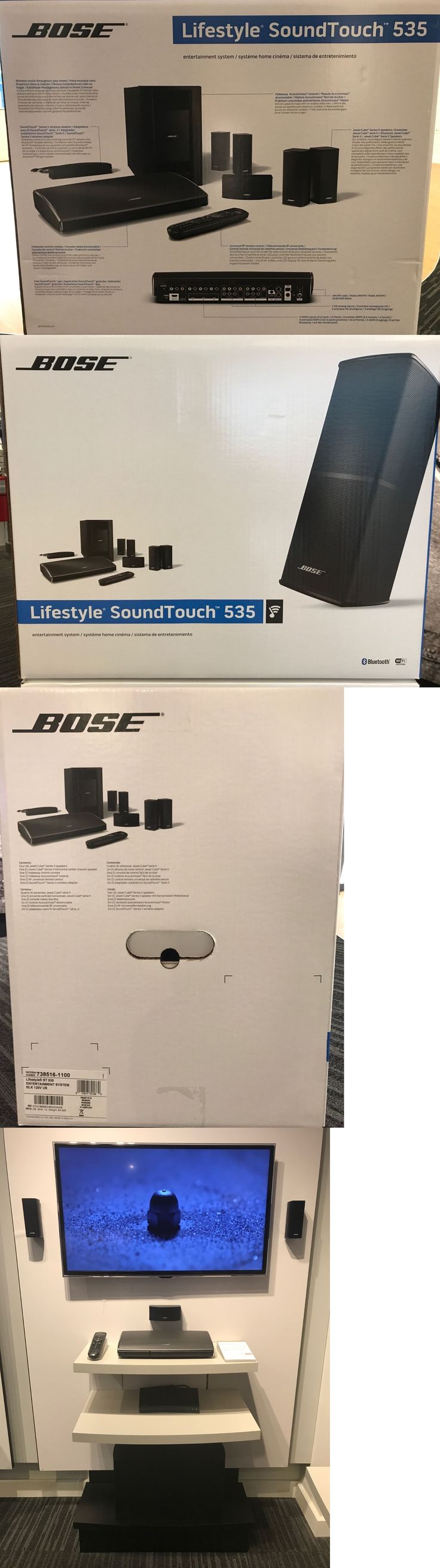 Home Theater Systems: Bose Lifestyle Soundtouch 535 Entertainment System -> BUY IT NOW ONLY: $1765 on eBay!