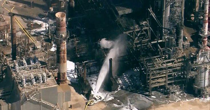 Incêndio atinge refinaria da Petrobras em Pasadena, diz Guarda Costeira