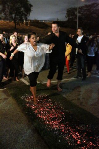 """Done it 5 Times!  Love it and Boy Oh Boy It is Real."" - Luigi @ToniRobins  @KruppKomm #Oprah #firewalking #truth"