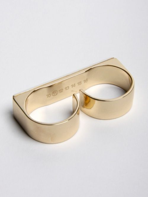 Two Finger Ring by Martin Margiela