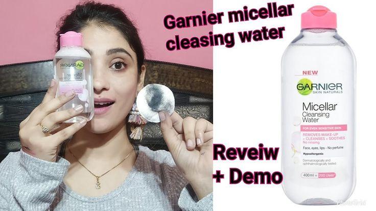 *NEW * GRANIER MICELLAR CLEASING WATER REVIEW + LIVE DEMO || SHYSTYLES - https://www.fashionhowtip.com/post/new-granier-micellar-cleasing-water-review-live-demo-shystyles/