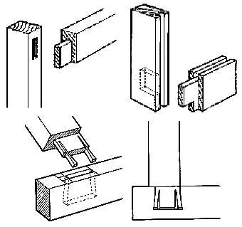 Ensamble de caja y espiga para maderas procesos y for Planos de carpinteria