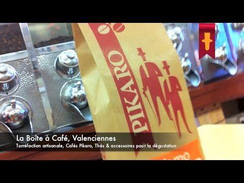"""Visite en vidéo de la boutique """"La Boîte à Café"""" de Valenciennes. Cafés de spécialité en direct de la torréfaction..."""