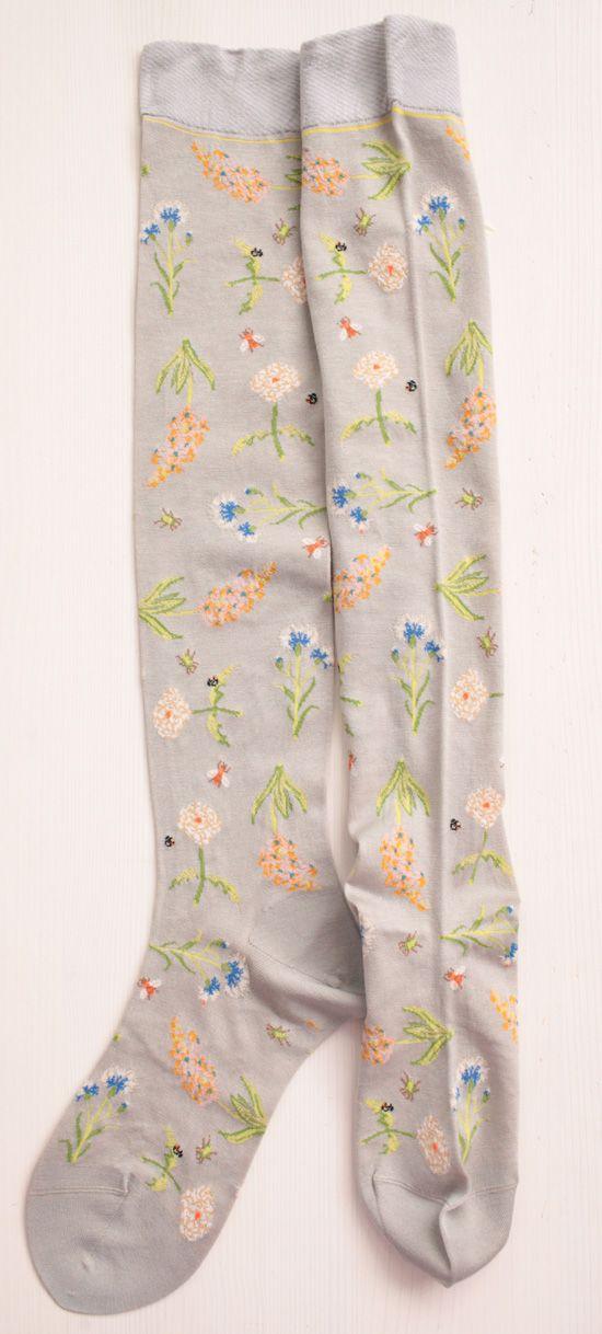 WONDERFUL FLOWERS SOCKS / Antipast