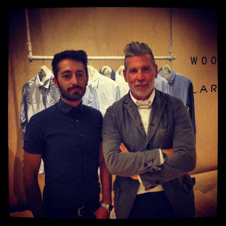 Pitti Uomo - Interview with Nick Wooster and Luigi Lardini » Men Style Fashion