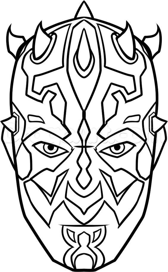Darth Maul Painting Darth Painting Star Wars Darth Maul