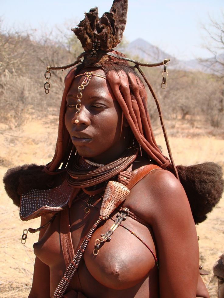 Himba beauty in Namibia. Visit www.openafrica.org for information on self-drive travel routes in Namibia.