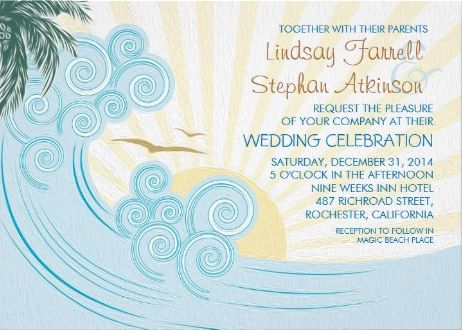 70 best Beach Wedding Invitations images on Pinterest Invitations