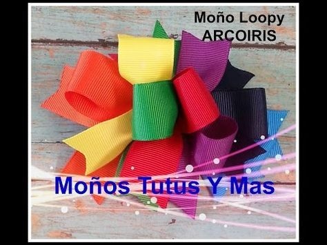 MOñO DE PORRISTA Hecho con Molde Paso a Paso CHEERLEADER BOW Tutorial DIY How To PAP - YouTube