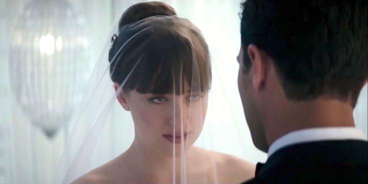 Here's the First Look at <i>Fifty Shades Freed</i> and Ana and Christian's Wedding  - ELLE.com