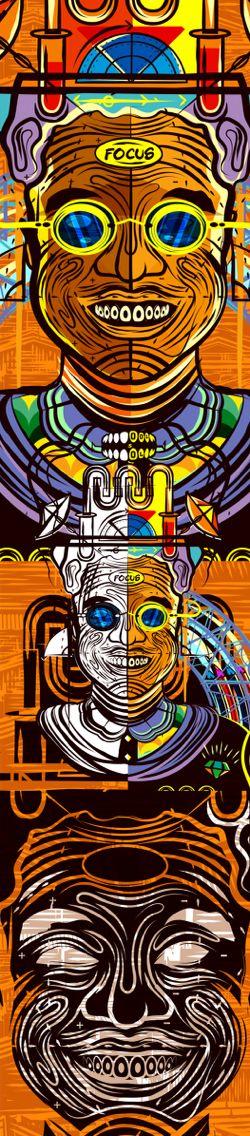 Illustrations about Geniuses by Lazi Greiispaces Mathebula