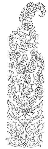 Oriental ornaments - paisley .. Comments: LiveInternet - Russian Service Online Diaries