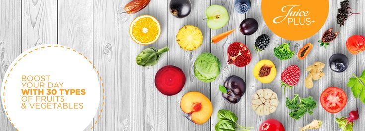 Juice PLUS+® is composed of 26 types of fruits, vegetables and berries. Shop…