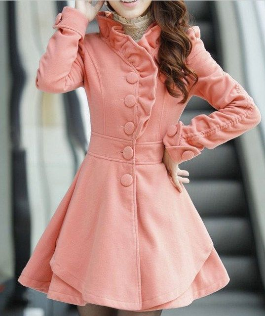 4 colors women's Princess style  dress Coat jacket  Apring autumn winter coat jacket cute coat C123