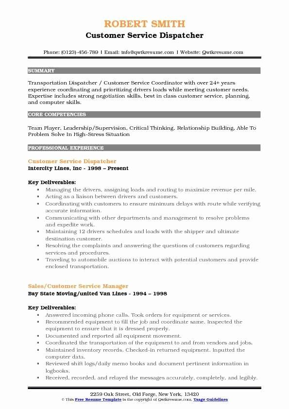 Truck Dispatcher Job Description Resume New Truck Dispatcher Resumes Romes Danapardaz In 2020 Manager Resume Resume Nanny Job Description