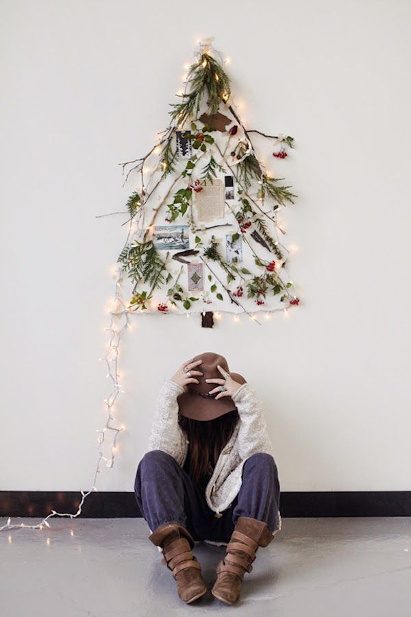 An alternative Christmas tree by the free people blog: