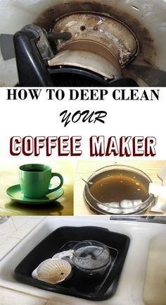 How to deep clean your coffee maker - Magical Cleaning
