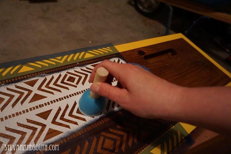 Southwestern Inspired Dresser