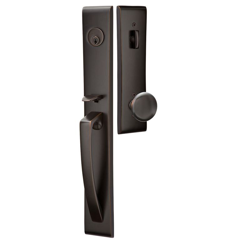 Orion Exterior Tubelatch Door Set With Providence Knob