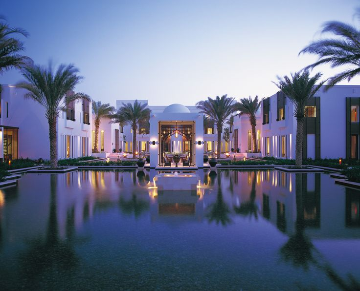 beautiful and tranquil Oman, The Chedi Muscat