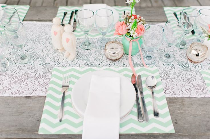 paper placemats coral and mint 2014 05 19_0019 beach wedding special events pinterest destination weddings and south africa