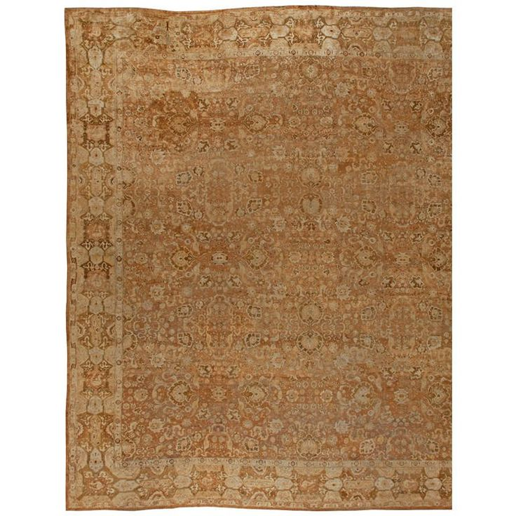 Excuisite Antique Indian Rug | From a unique collection of antique and modern indian-rugs at https://mario.1stdibs.com/furniture/rugs-carpets/indian-rugs/