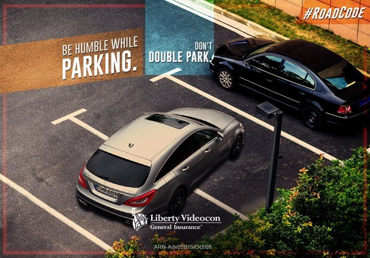 Follow parking conventions and don't double park. Double parking is against the #RoadCode