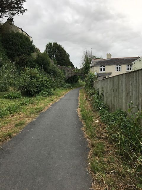 Tarka Trail cycle path, Bideford, Devon #disused #railway