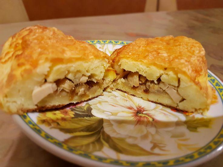 Зразы картофельные с грибами - Рецепт современной домашней кухни с фото