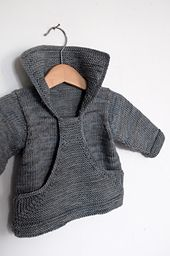 Pull Gaspard pattern by Christine Rouvillé. Fits 6 to 24 months. Wished it fit adultsl