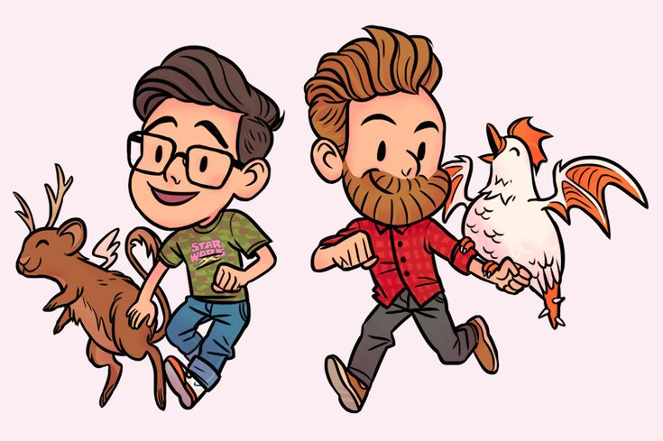 By Gisela Good Mythical Morning Link Fan Art Mythical Beast