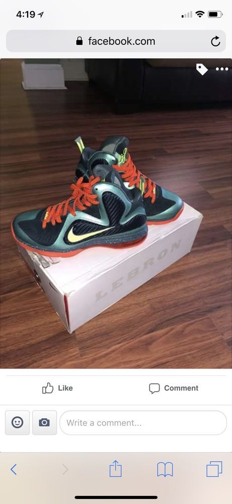 d9fc311715bc1 NIKE LEBRON 9 CANNON SIZE 10.5 GREAT CONDITION BASKETBALL SNEAKERS  fashion   clothing  shoes  accessories  mensshoes  athleticshoes (ebay link)