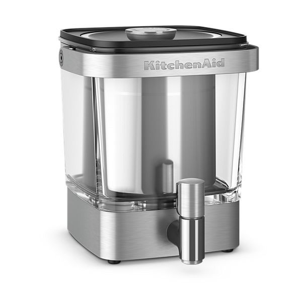 Kitchenaid 38 Oz Cold Brew Coffee Maker In Stainless Steel In