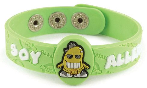 AllerMates Wrist Band Soy Cool Soy Allergy