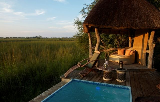 Xakanaxa is located in the heart of the Moremi Game Reserve, rated as one of Africa's most beautiful game reserves,  http://www.africanwelcome.com/botswana/botswana-private-game-lodges/xakanaxa-camp-moremi-game-reserve-botswana