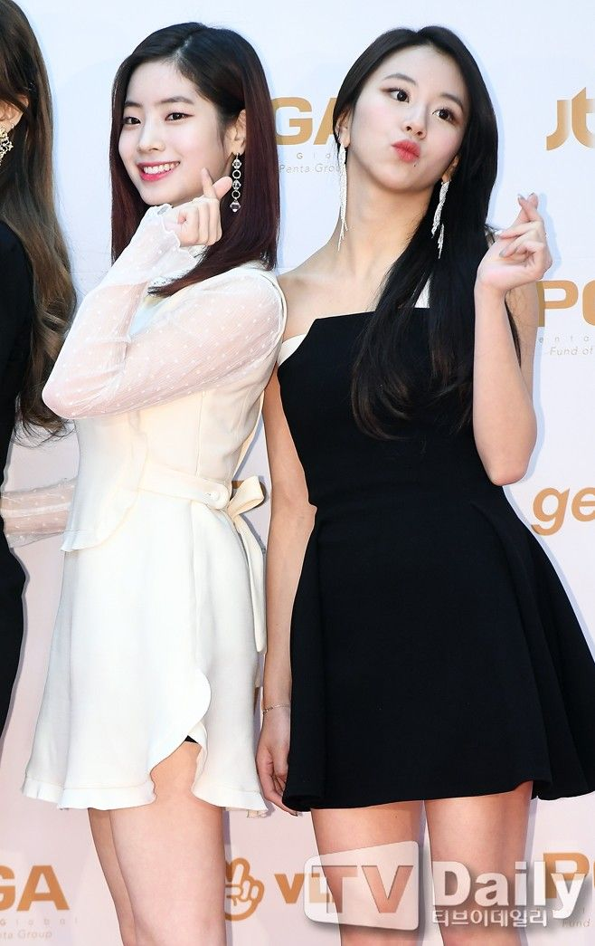 #TWICE #DAHYUN #CHAEYOUNG #GoldenDiskAwards2018