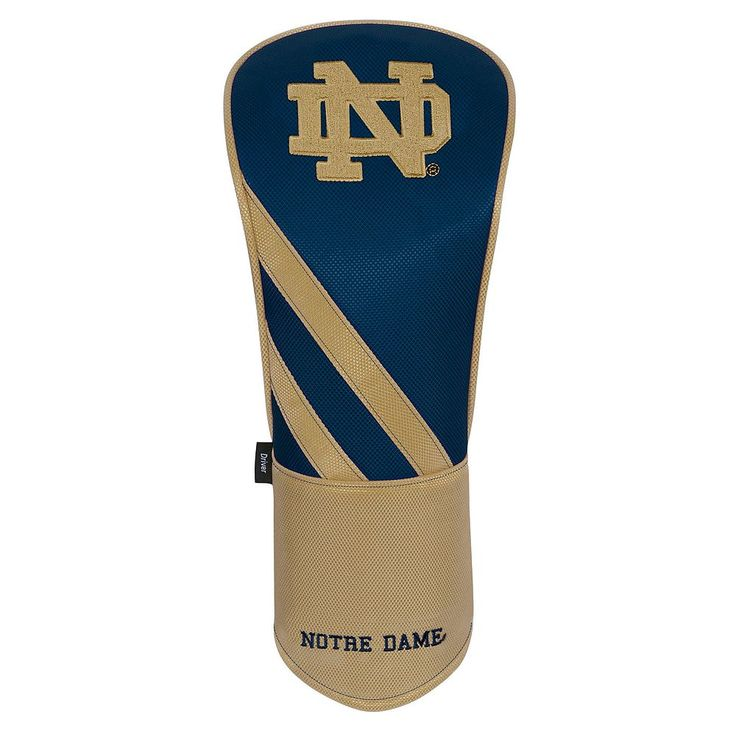 Team Effort Notre Dame Fighting Irish Stripes Driver Headcover, Multicolor
