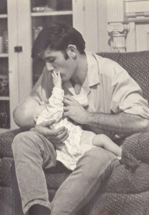 Elvis and baby Lisa.