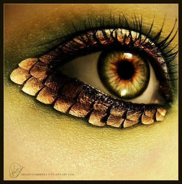 Eye art fish skin  http://naturalhealthsynergy.com/