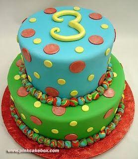 Fun fondant cake #cakewithcream #food