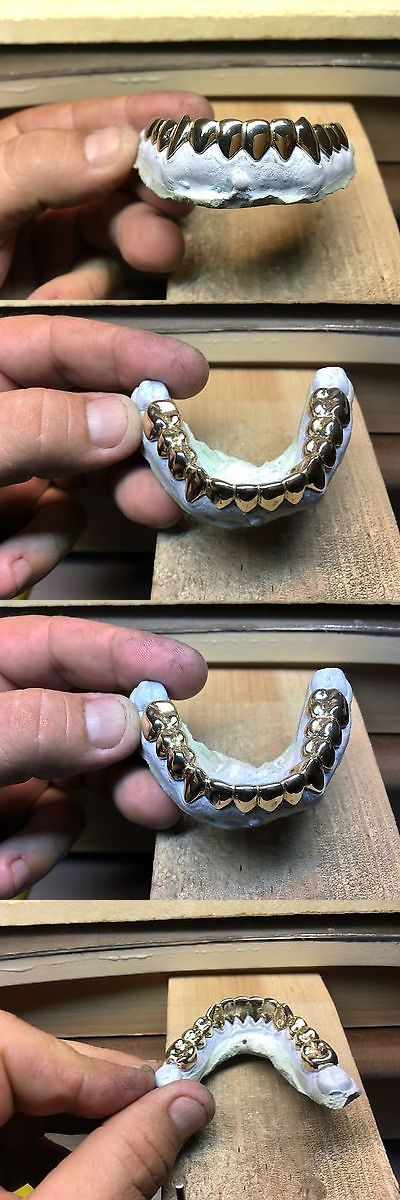Grillz Dental Grills 152808: 14 K 12 Pcs Bottom Custom Grillz BUY IT NOW ONLY: $470.0